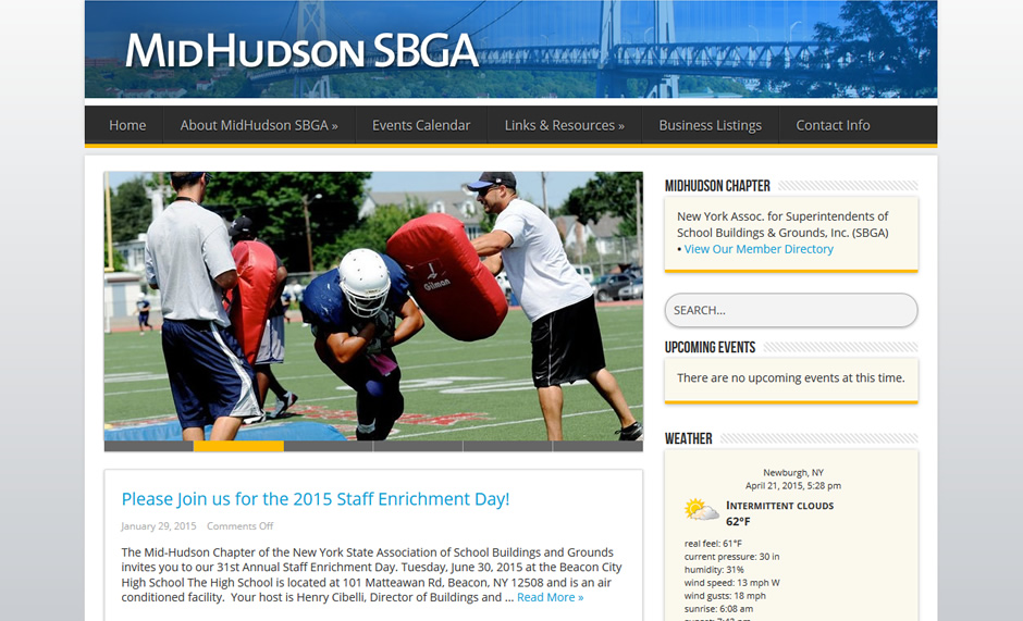 Mid-Hudson Chapter - New York State SBGA